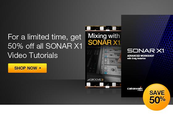 SONAR X1 videos